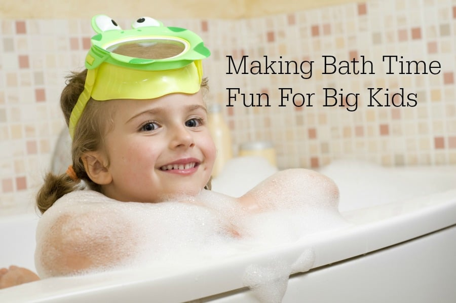 Making Bath Time Fun For Big Kids - Family Food And Travel