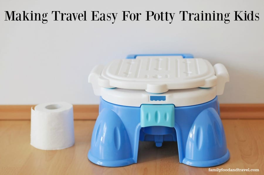 Making Travel Easy For Potty Training Kids
