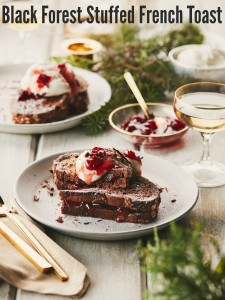 Black Forest Stuffed French Toast