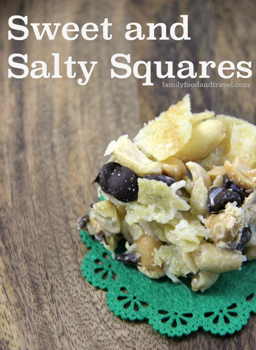sweet and salty squares