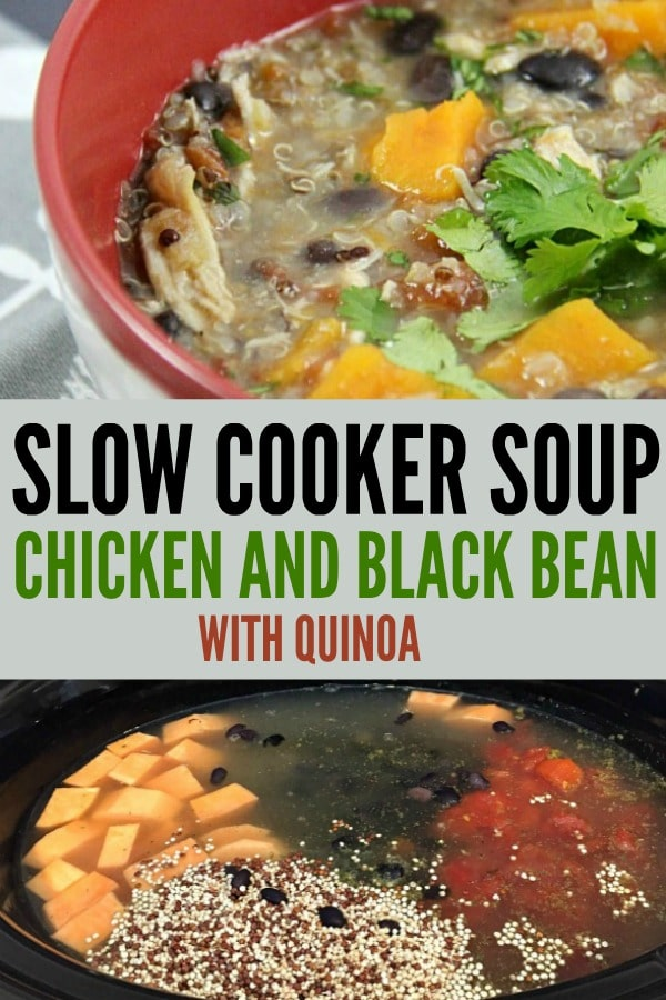 Slow Cooker Soup Chicken and Black Bean