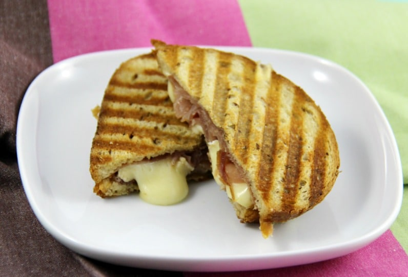 Brie and Prosciutto Panini