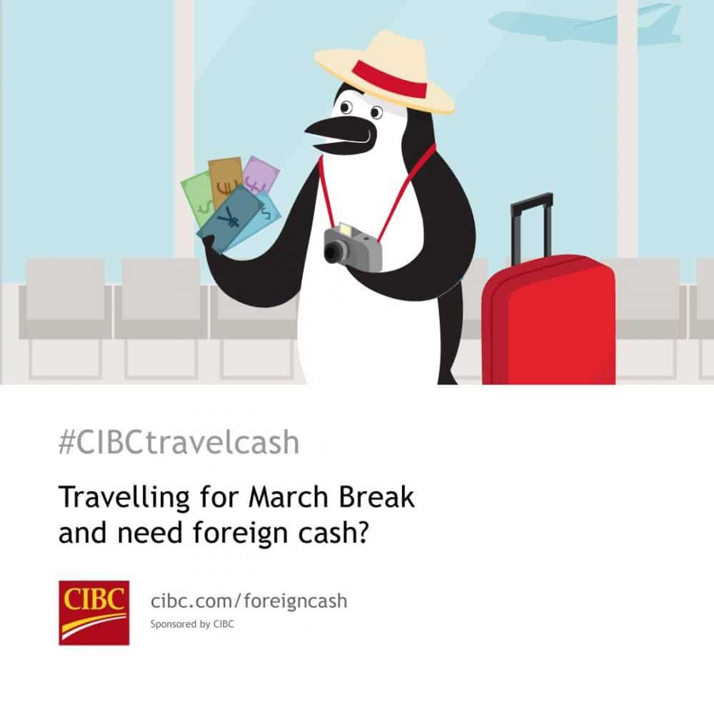 Fast and Easy Foreign Currency with CIBC #CIBCtravelcash