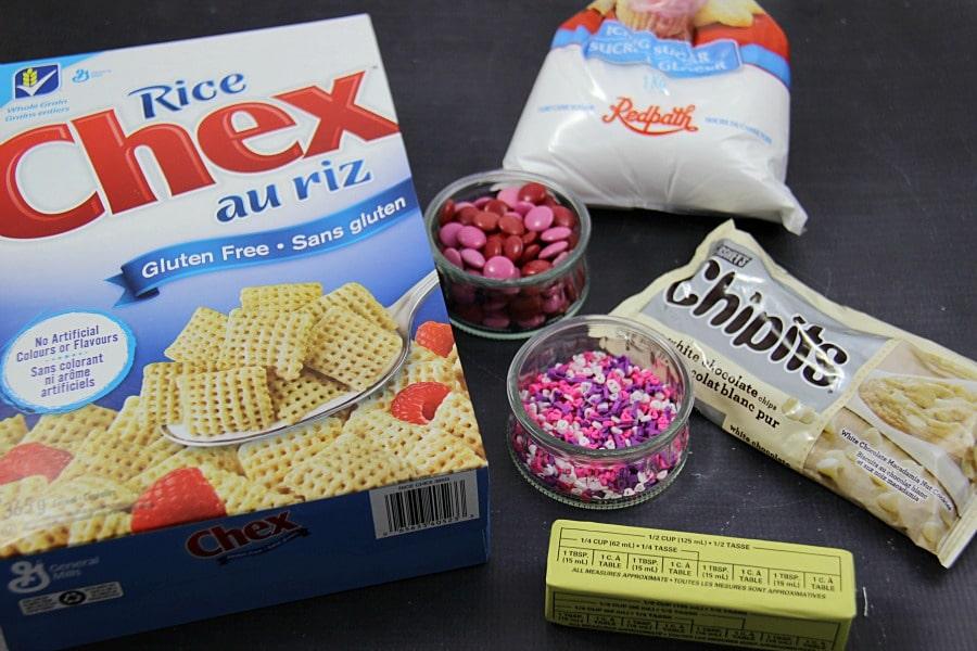 Valentines Chex Mix
