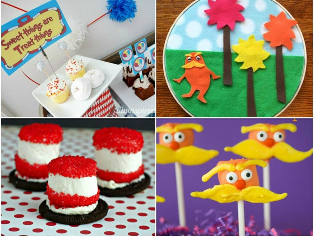 20 Dr. Seuss Crafts, Recipes and Activities