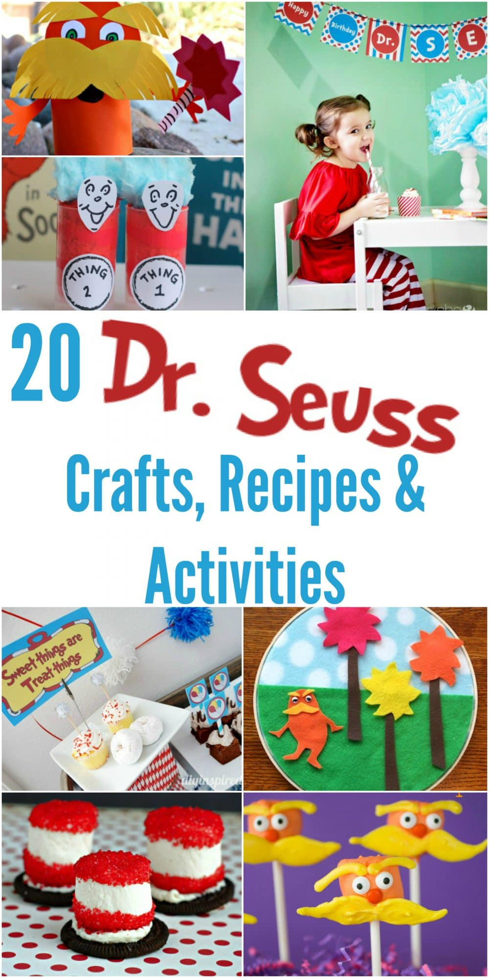 20 Dr. Seuss Crafts, Recipes & Activities
