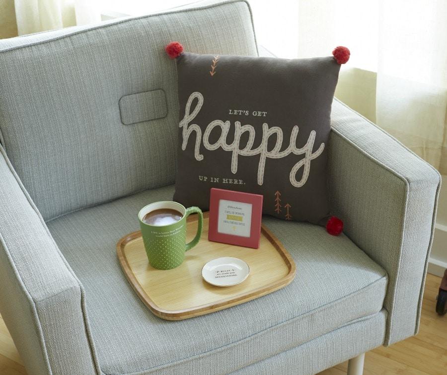 Happy Pillow - $34.95