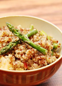 Quinoa Salad with Chili Lime Dressing