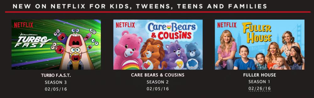 February with Netflix