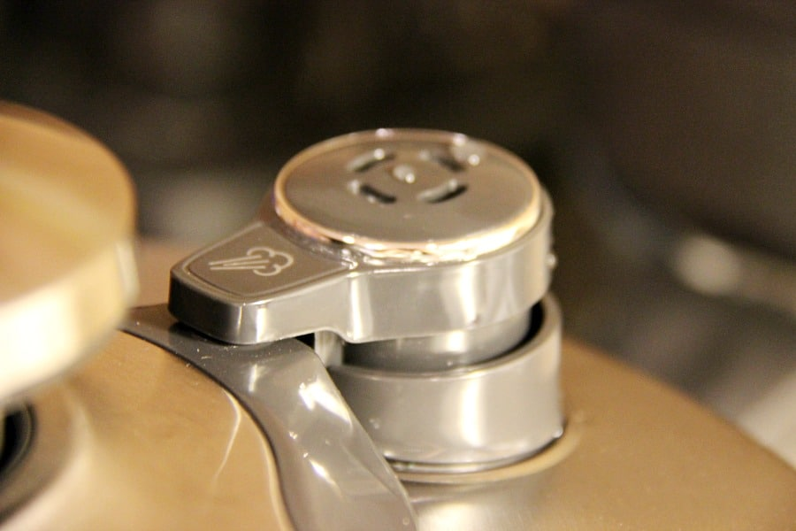 Breville Fast Slow Pro release valve