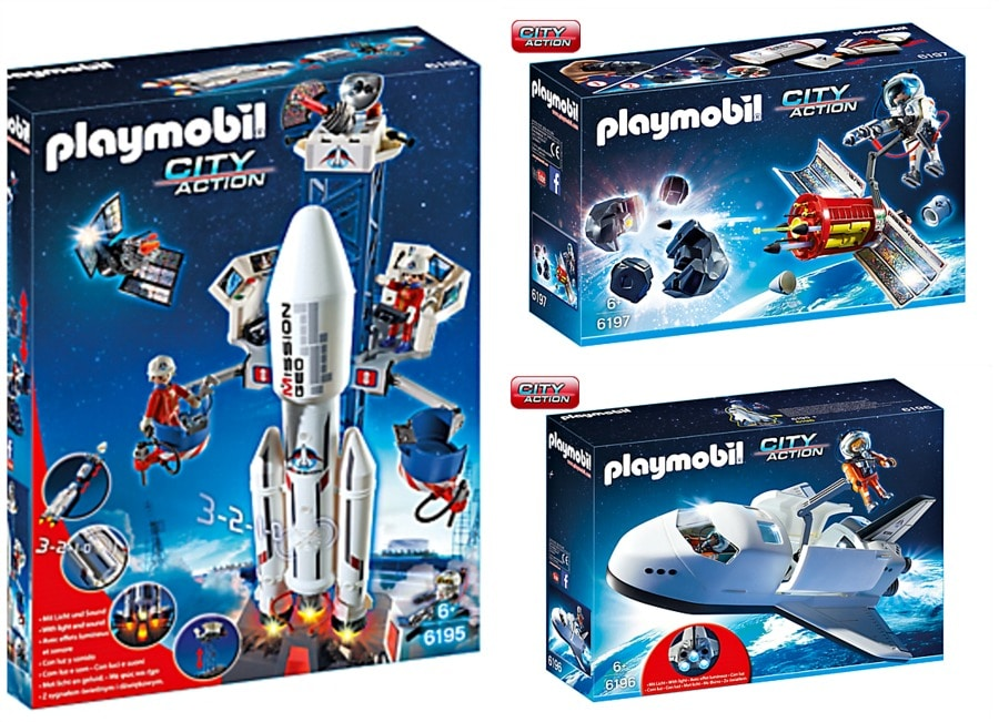 Playmobil Space Theme is Out of This World Fun