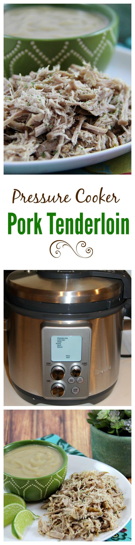 Pressure Cooker Pork Tenderlion