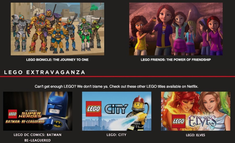 Lego Netflix