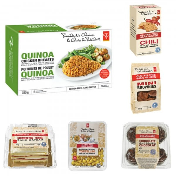 PC Gluten Free Products