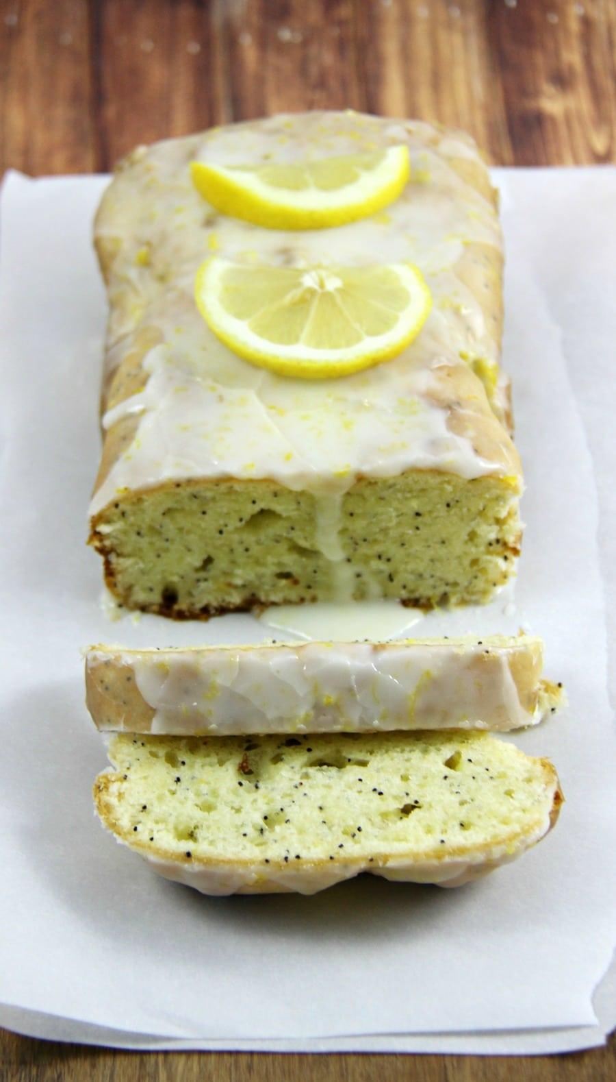 Gluten Free Lemon Poppyseed Loaf 3