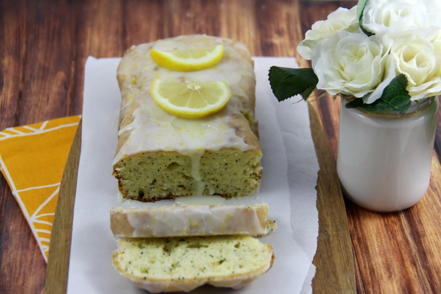 Gluten Free Lemon Poppyseed Loaf