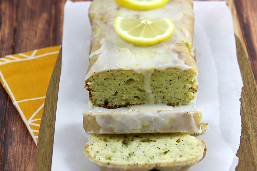 Gluten Free Lemon Poppyseed Loaf #CompromiseFree