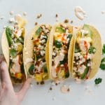 Lentil Tacos Recipe #EveryDayFiesta #CincoDeMayo