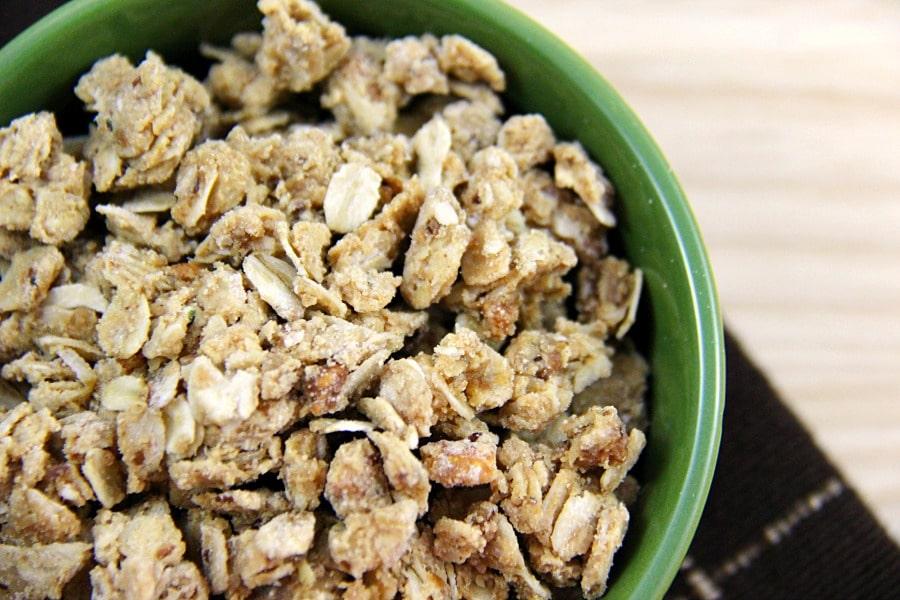 Peanut Butter and Honey Granola Recipe