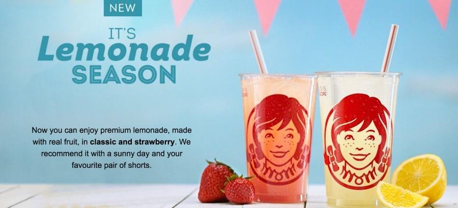 Wendys Premium Lemonade 2
