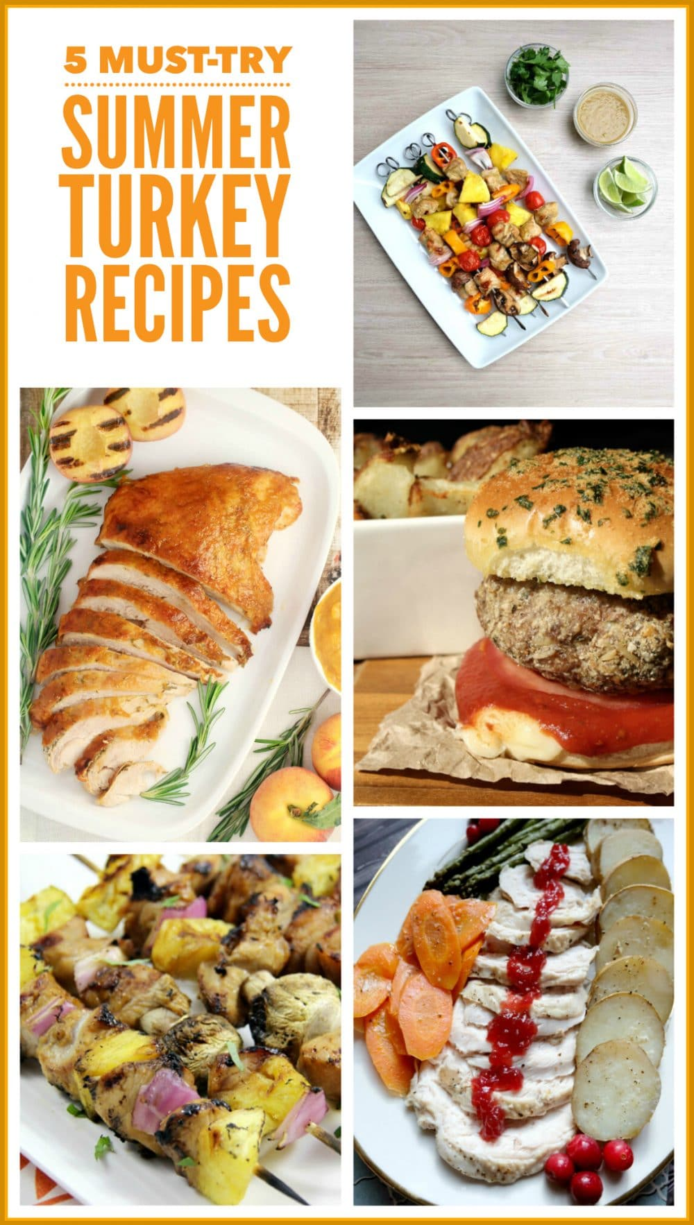 Turkey Recipe Collage