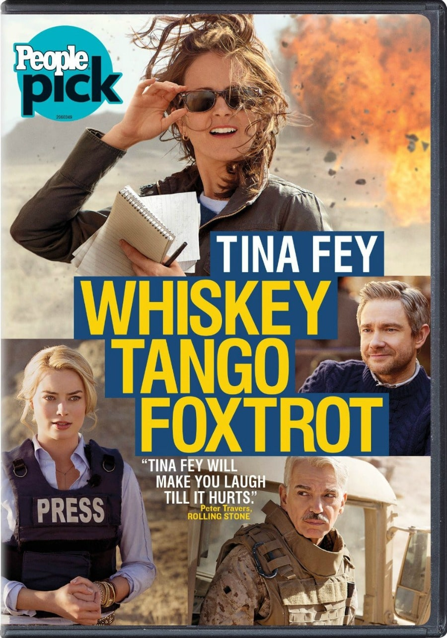 Whiskey Tango Foxtrot BluRay Combo Pack #Giveaway