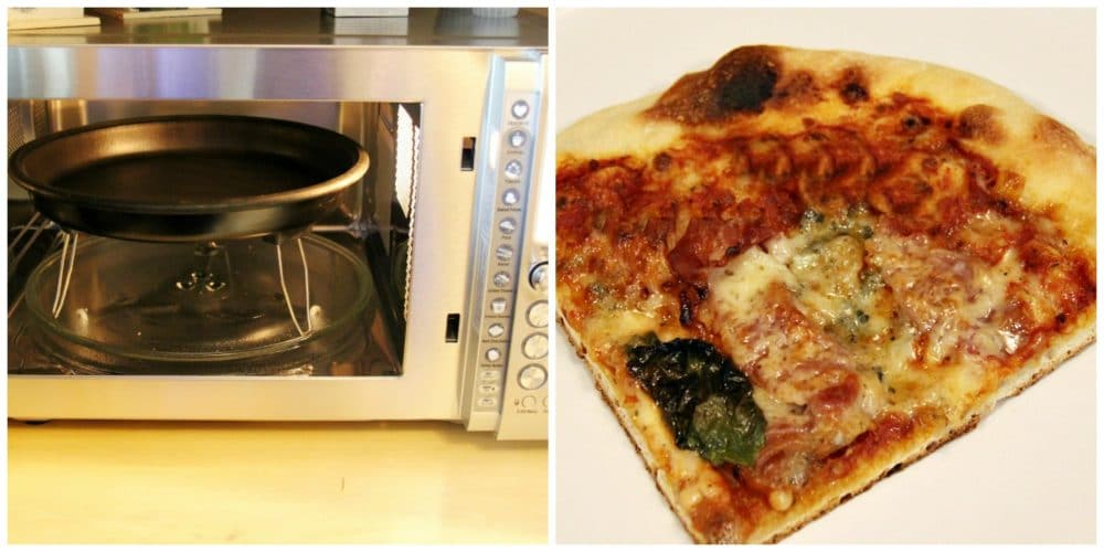 Breville Quick Touch Crisp Reheating Pizza