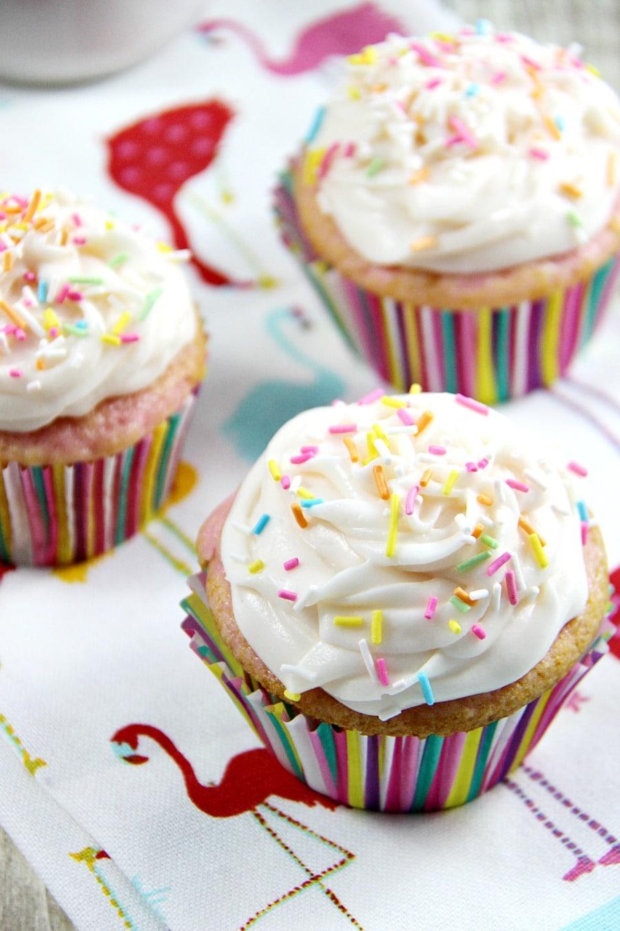Cream Soda Cupcakes
