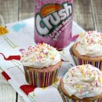 Cream Soda Cupcakes with Cream Cheese Icing