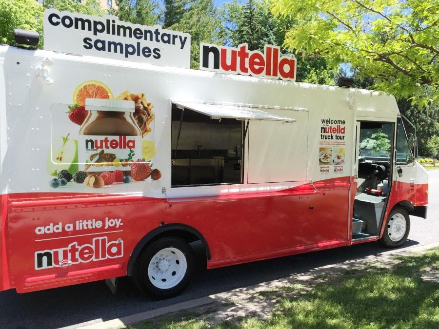 Nutella Truck Tour 2016 #AddALittleJoy