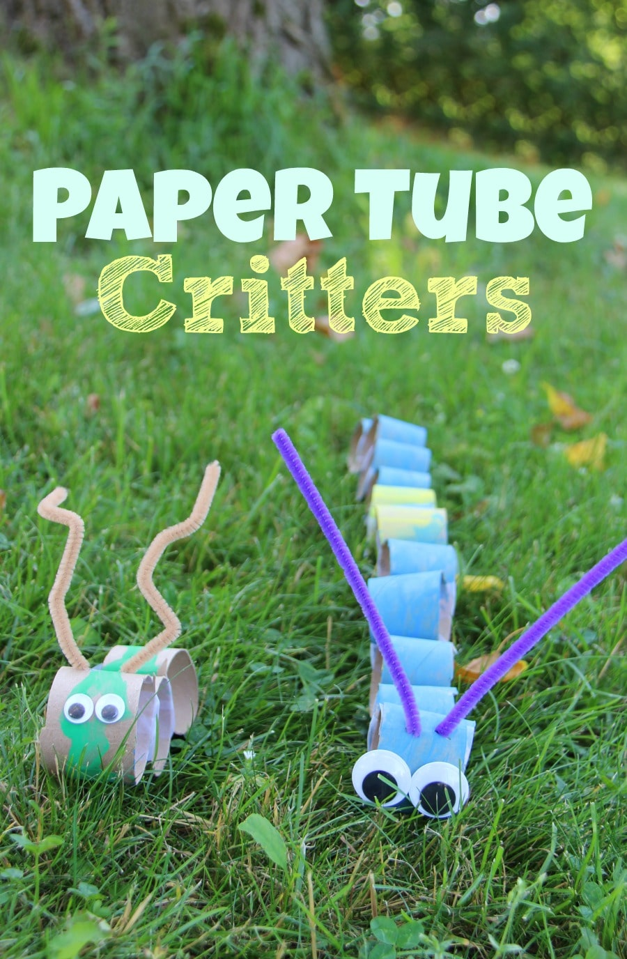 Paper Tube Critters