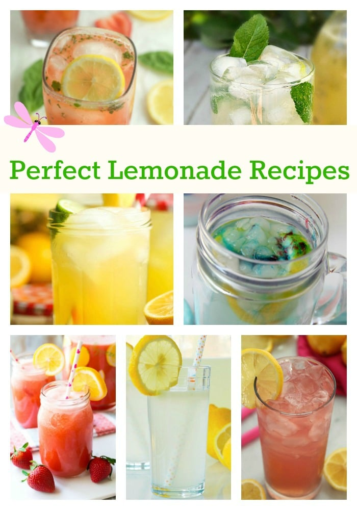 Perfect Lemonade Recipes