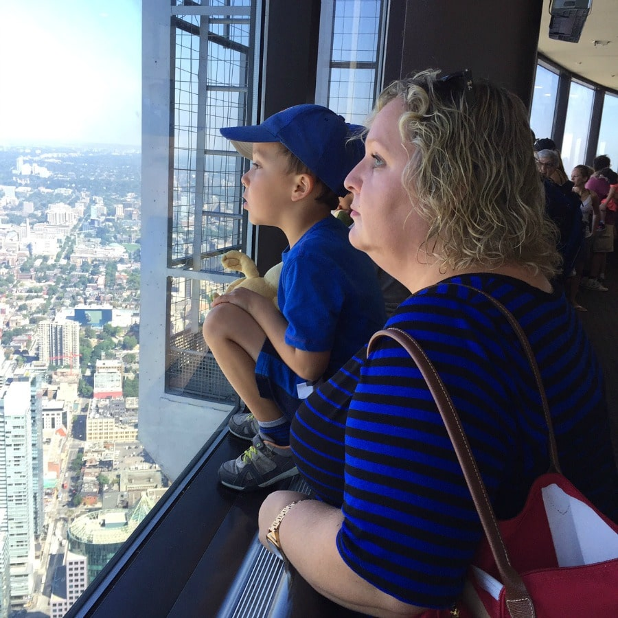 Visiting Toronto with Kids - CN Tower