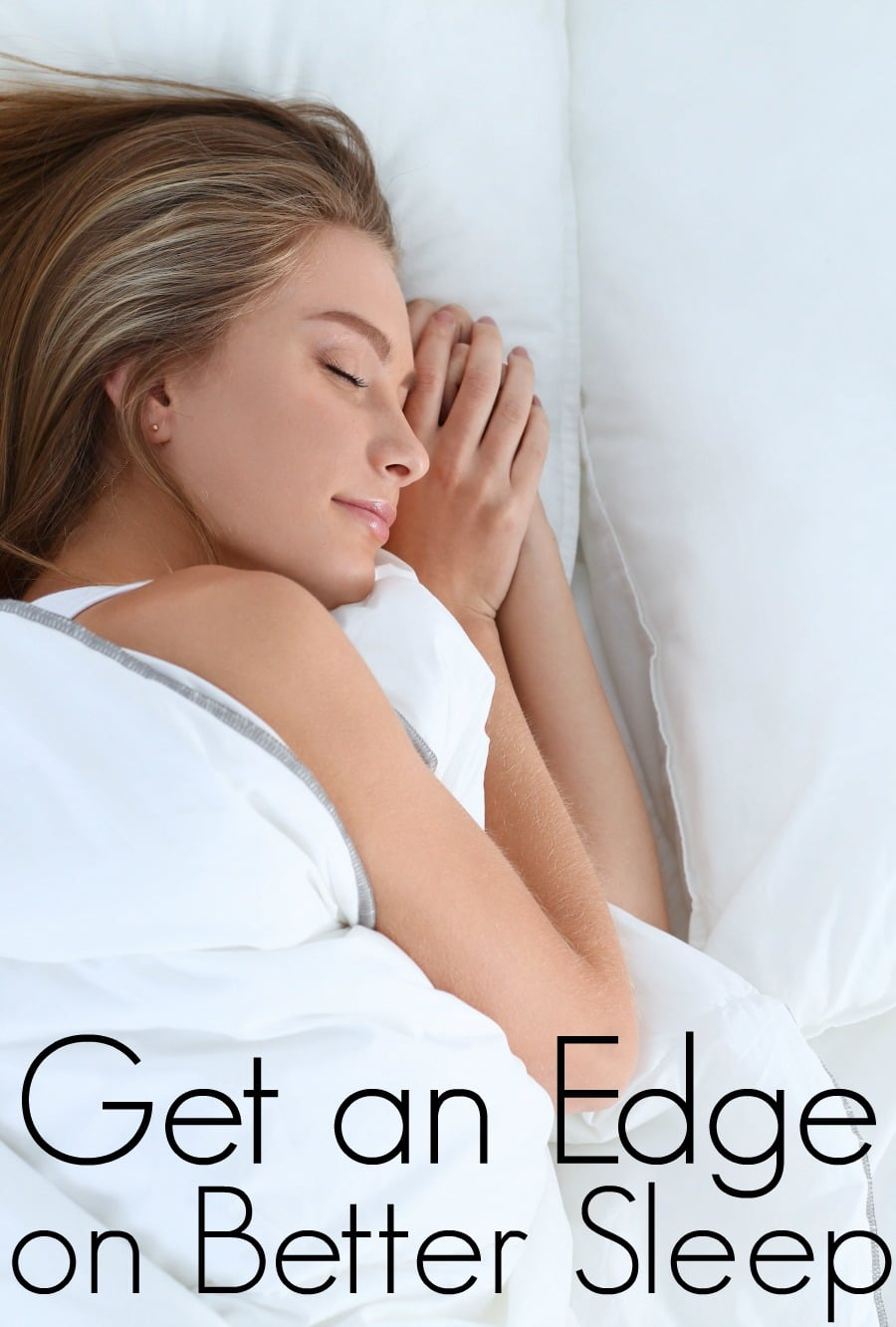 Get an Edge on Better Sleep with Dream Water
