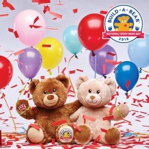 Celebrate National Teddy Bear Day with Build-a-Bear