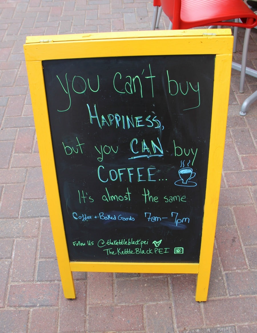 Charlottetown PEI Coffee