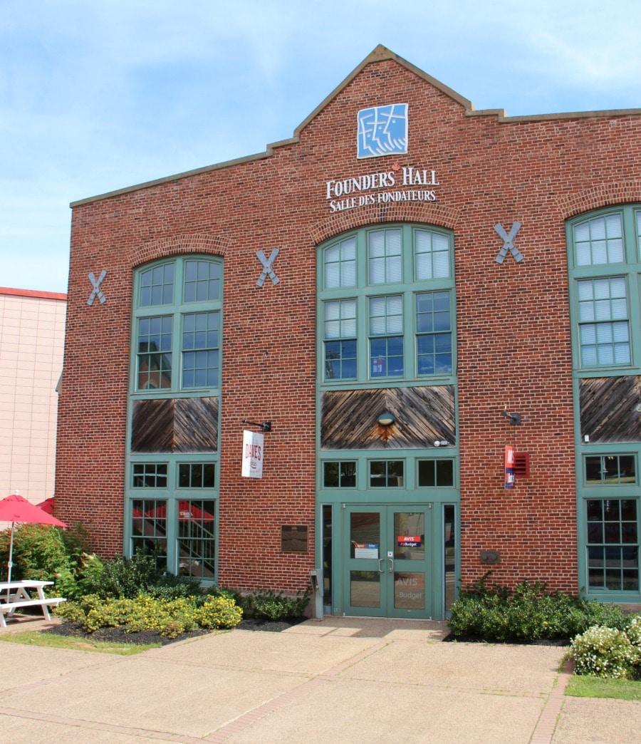 Charlottetown PEI Founders Hall