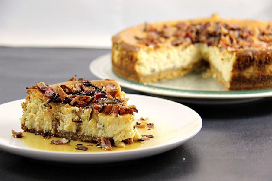 Maple Bacon Cheesecake photo