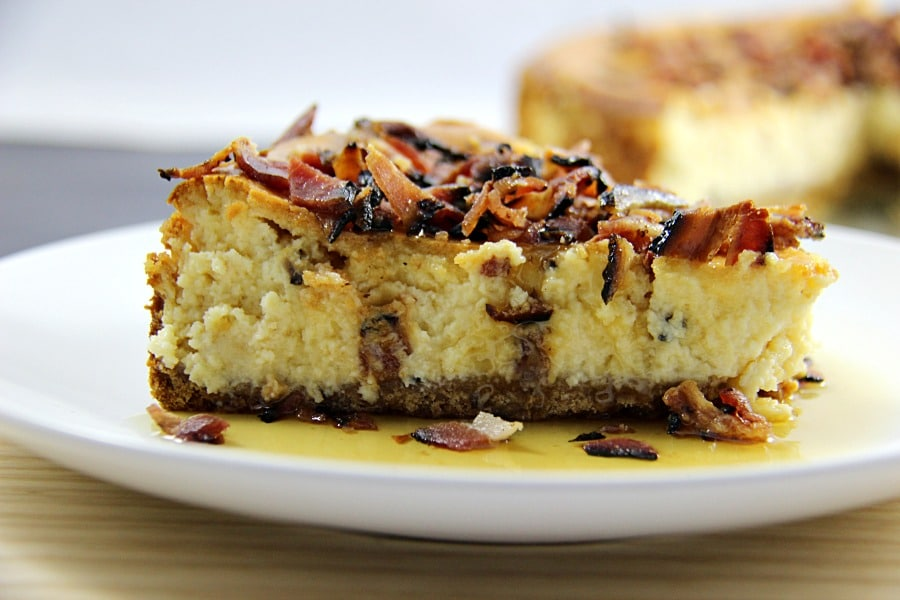 Maple Bacon Cheesecake image