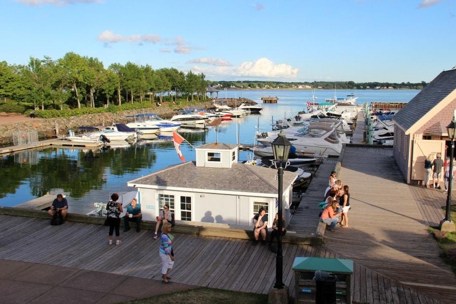 Peakes Wharf Charlottetown PEI