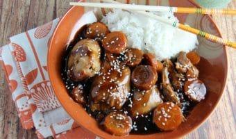 Slow Cooker Chicken with Hoisin Sauce