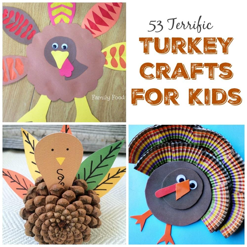 Turkey Crafts for Kids to Make