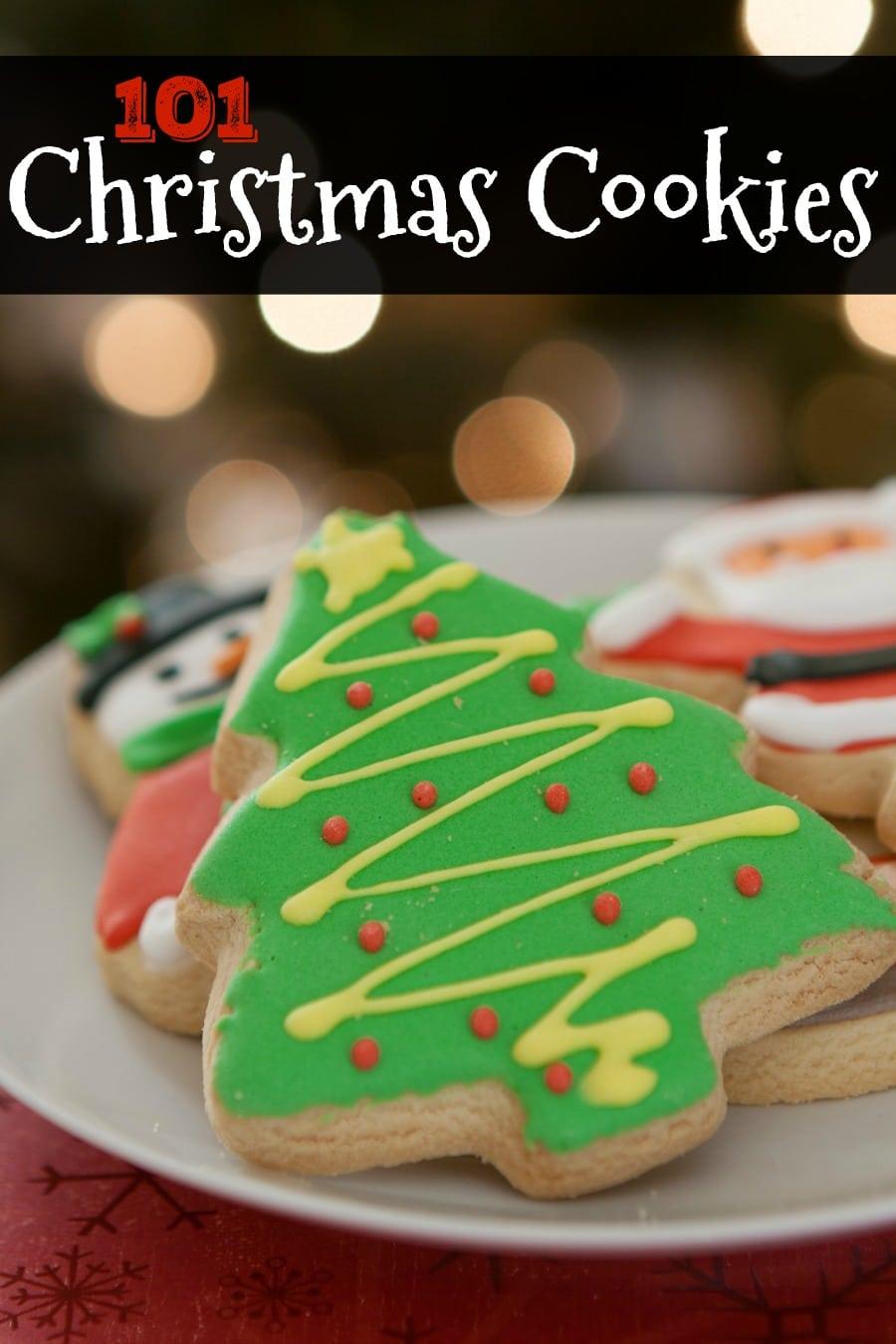 101 Christmas Cookies