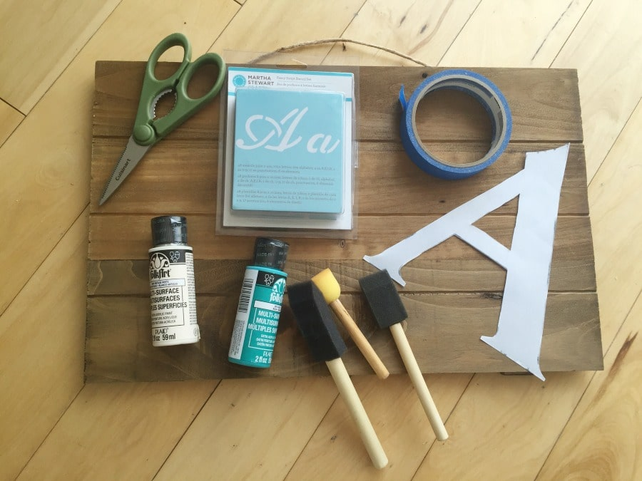 DIY Personalized Wooden Sign