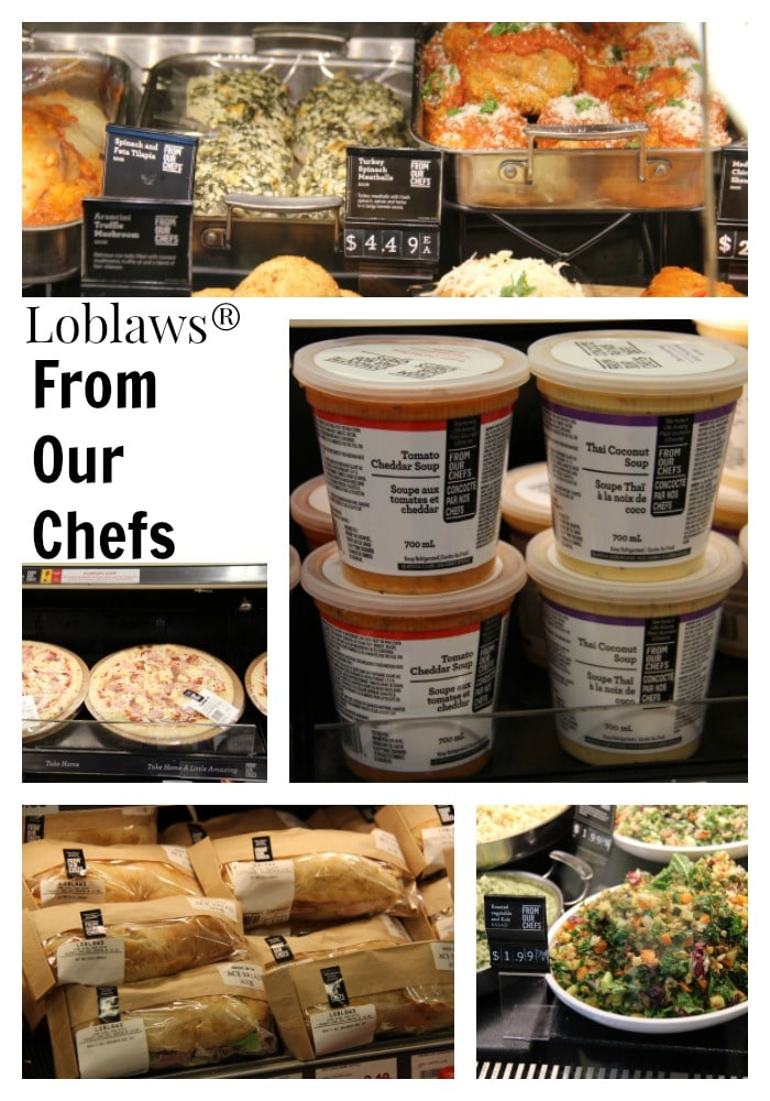 Loblaws From Our Chefs