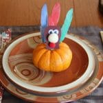 Mini Pumpkin Turkey Craft