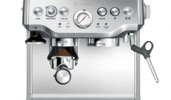 Breville Barista Express Creates Professional Coffee At Home