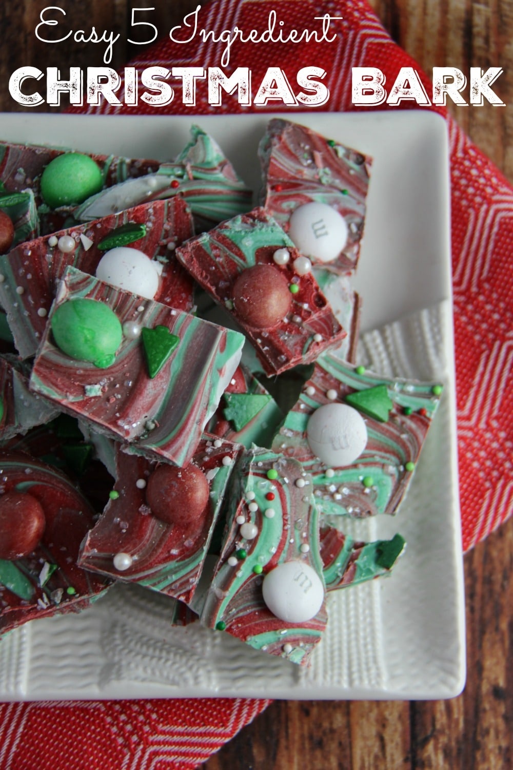 Easy Five Ingredient Christmas Bark