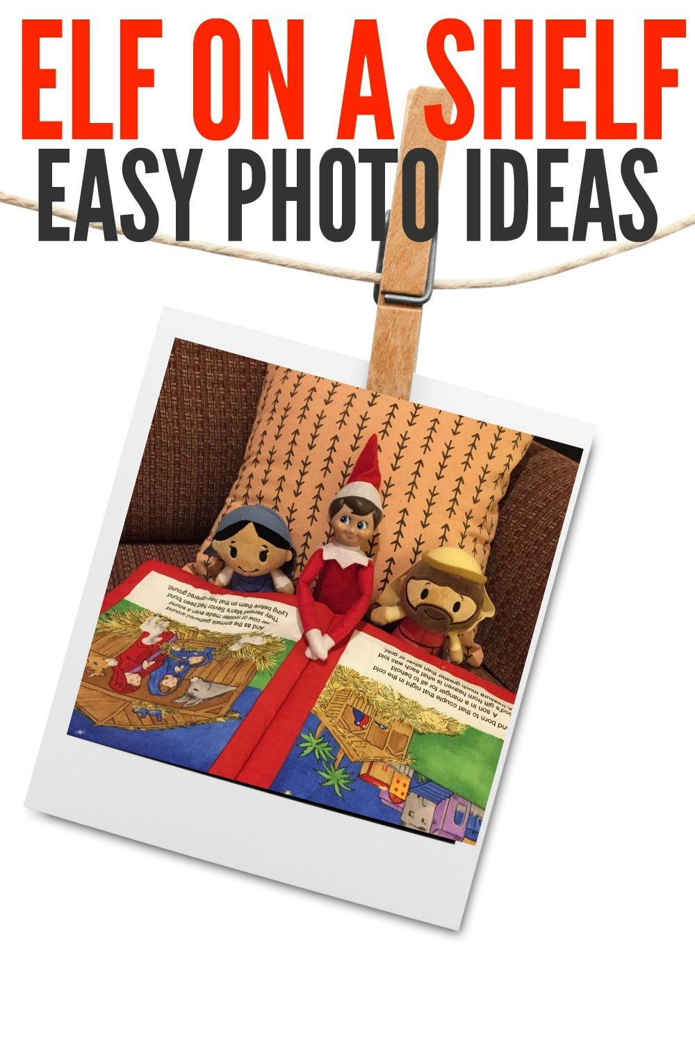 Elf on a Shelf Photo Ideas