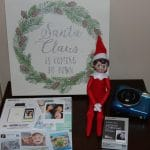 Elf on the Shelf Ideas with Fuji Instax Camera